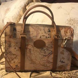 New Italian leather 👜 handbag